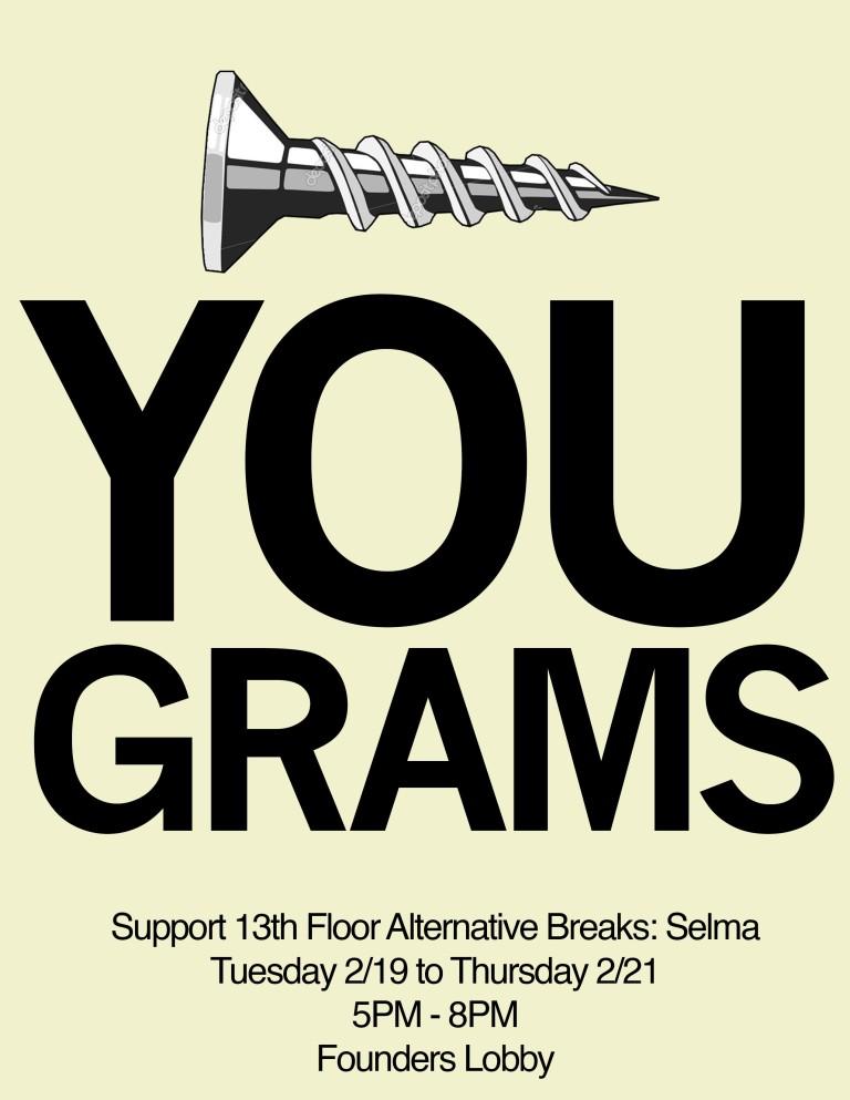 Screw You Grams Flyer